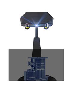 高分辨率工业级三维扫描仪 C500
